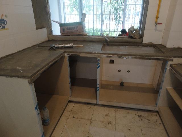 砖砌橱柜施工图,砖砌橱柜也能做出土豪金