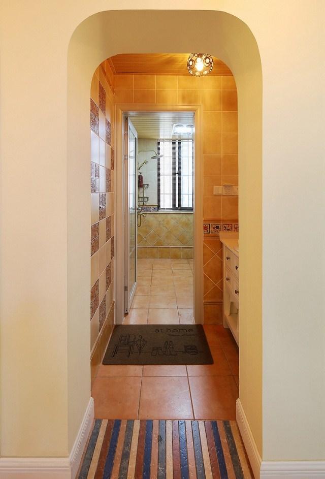 124平三居室混搭风格效果图,温馨且不失质感!