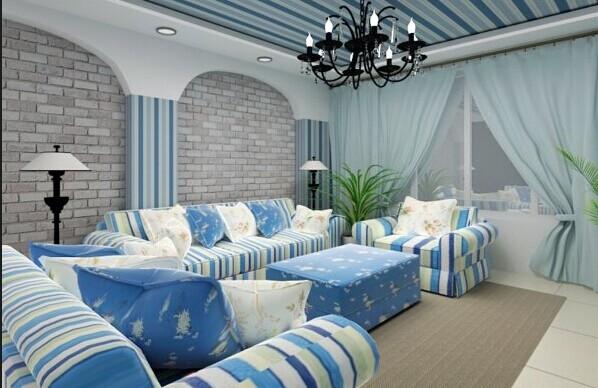南京地中海装修风格应该选什么沙发