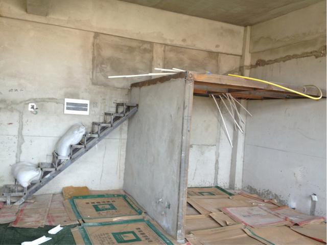 室内空中吊床效果图,小户型做室内空中吊床还增大了空间