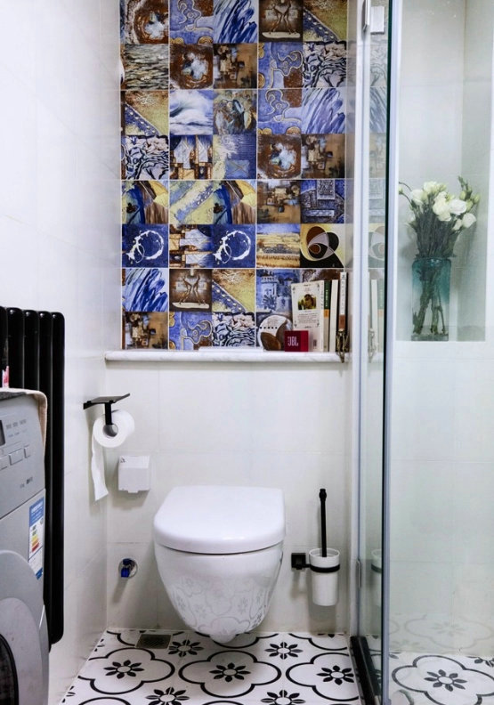 卫生间装修设计布置,哪怕只有3平方!