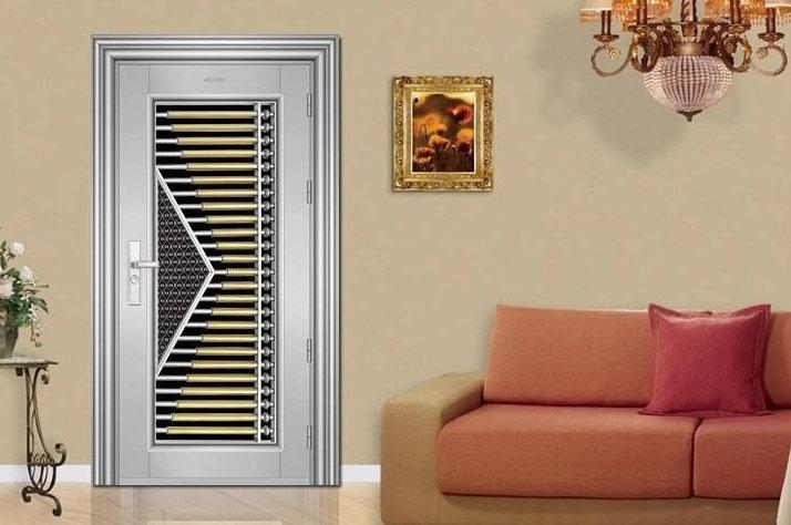 南京装修设计,个性防盗门的装修设计