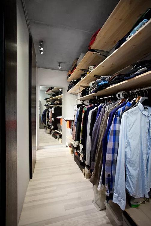 衣帽间装修设计,这些地方都是放衣帽间的好地方