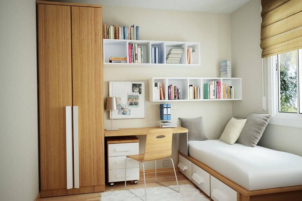 南京小户型装修设计,这样的设计能让小房间变成大房间