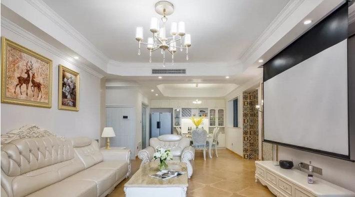 145㎡美式风格装修,卧室的设计太好看了