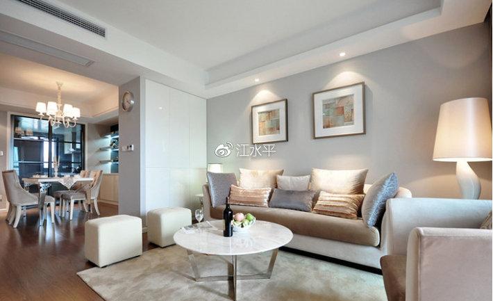南京住房客厅装修效果图,你家的客厅会用有什么功能呢