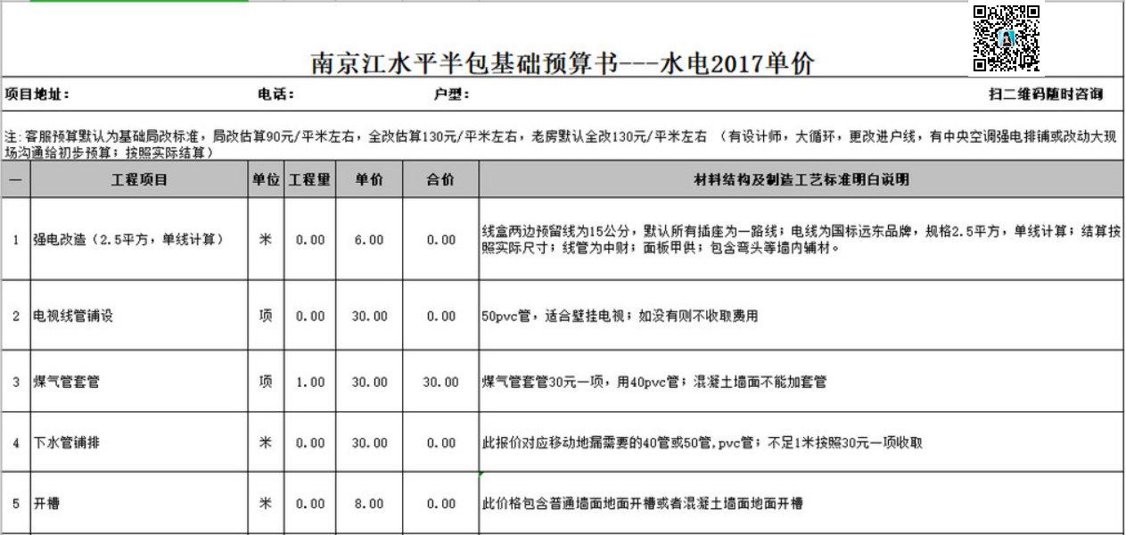 南京江水平装修,今年签约明年装修,享受今年(2018)装修单价活动开始啦!