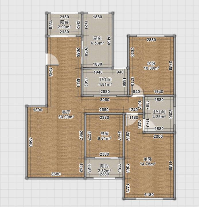 南京蓝山国际公寓的简约装修,110平的老房改造