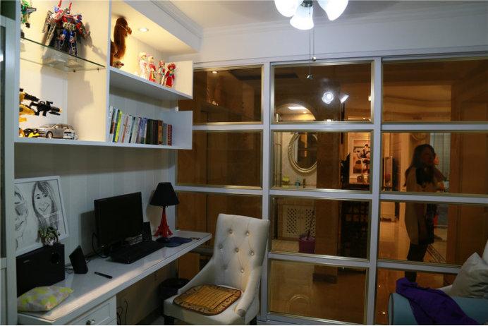 小平米书房装修,这样的设计美观大气还实用