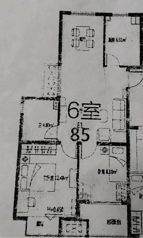 南京凤悦北园87平简约混搭,边户套的舒适敞亮