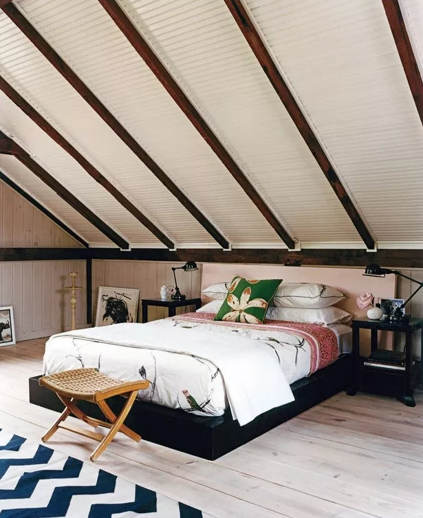 阁楼卧室设计,这样的卧室超更个性