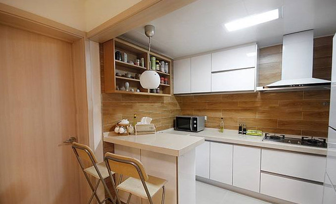 开放式厨房如何装修,改造布局第一步