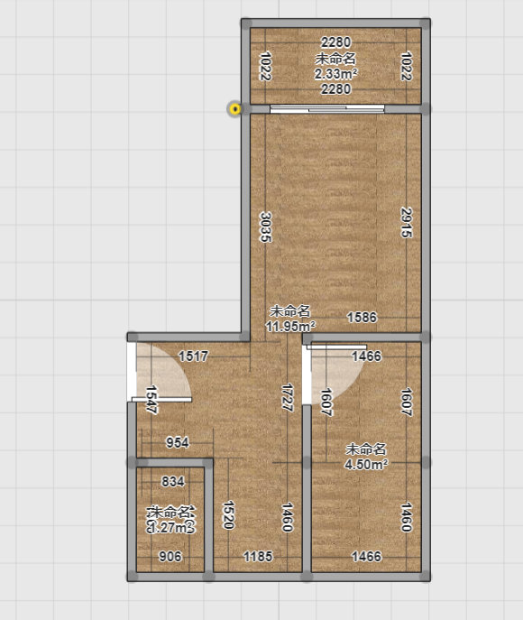 南京文思新村老房改造,48平也有大世界