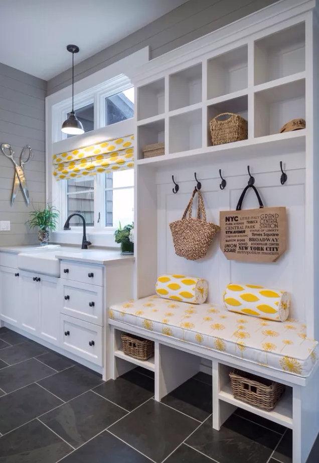 室内玄关装修效果,简单的玄关设计技巧