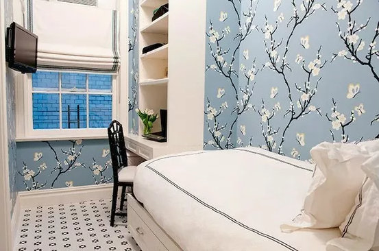 小型卧室的装修设计,能当客厅用的小房间
