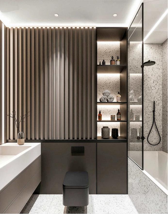 卫生间灯光布置,让卫生间用起来更舒服