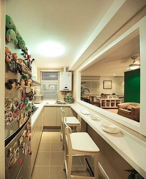 开放式厨房会不会后悔,有些问题还是要提前处理