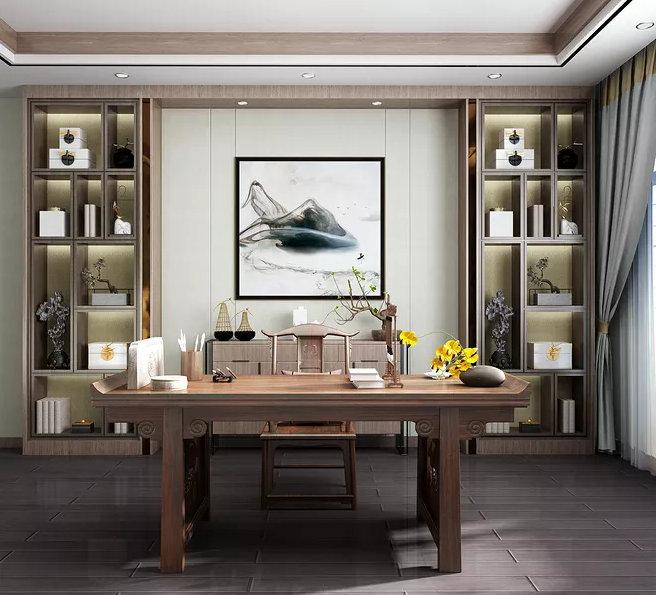 如何布置一个书房,舒适实用又省空间的布局