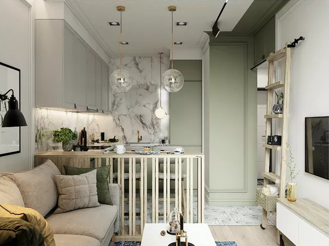 家装小客厅室内设计怎么做?这几项做好就很不错