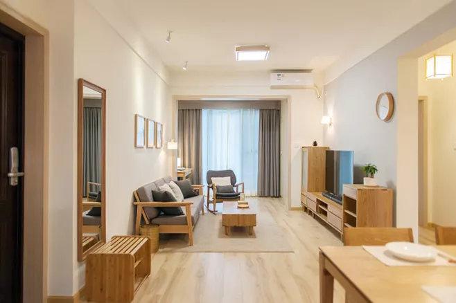 日式装修风格中,感受木质带来的纯粹生活