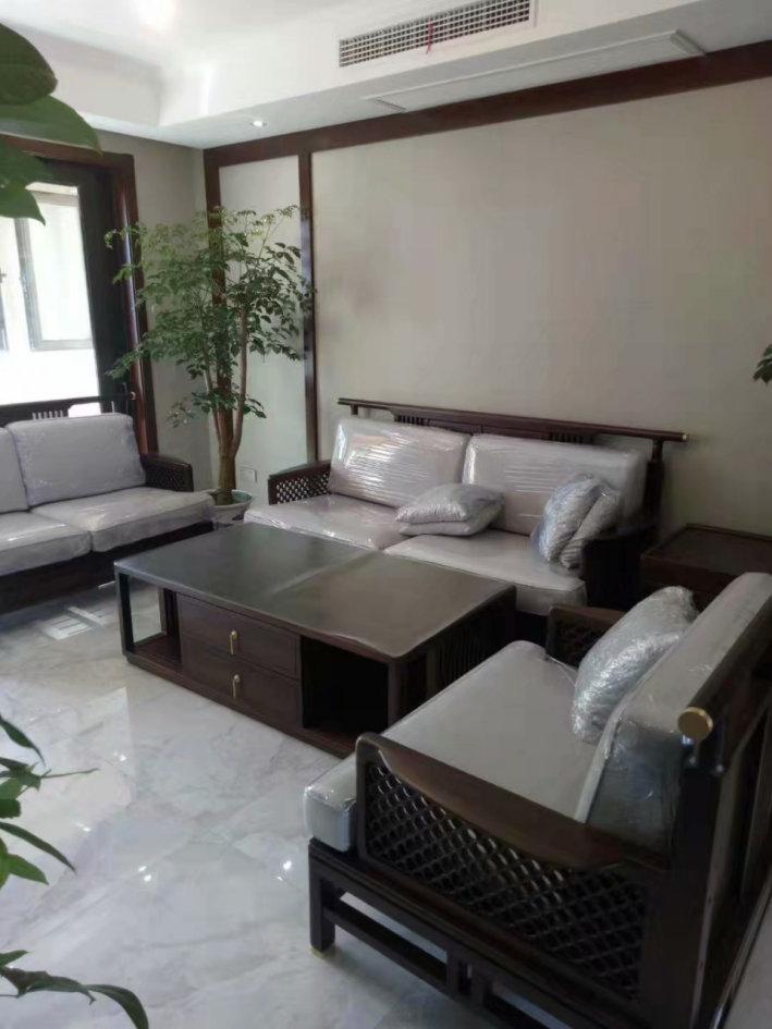 南京中海桃源里,158平的新中式装修案例