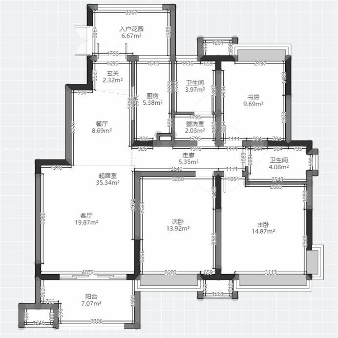 南京大发燕澜湾,120平简约设计,这才是我设计的家