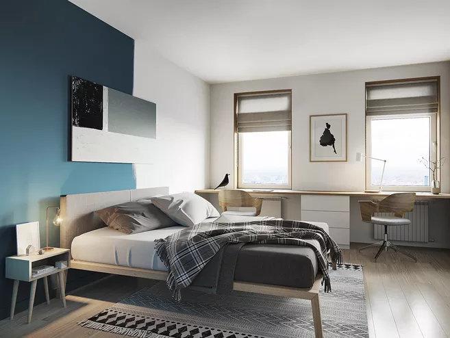 新房卧室设计,怎么样布置卧室会使人觉得温馨?