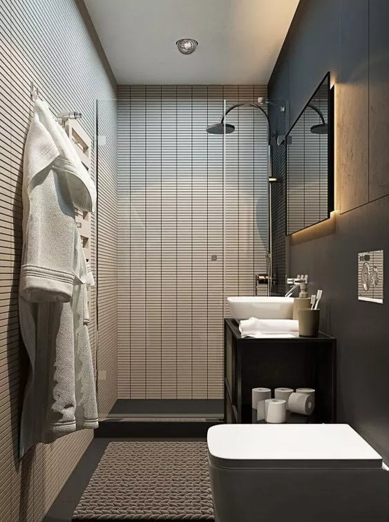 家装卫生间怎么布局,这样布局收纳,可以增加好多倍