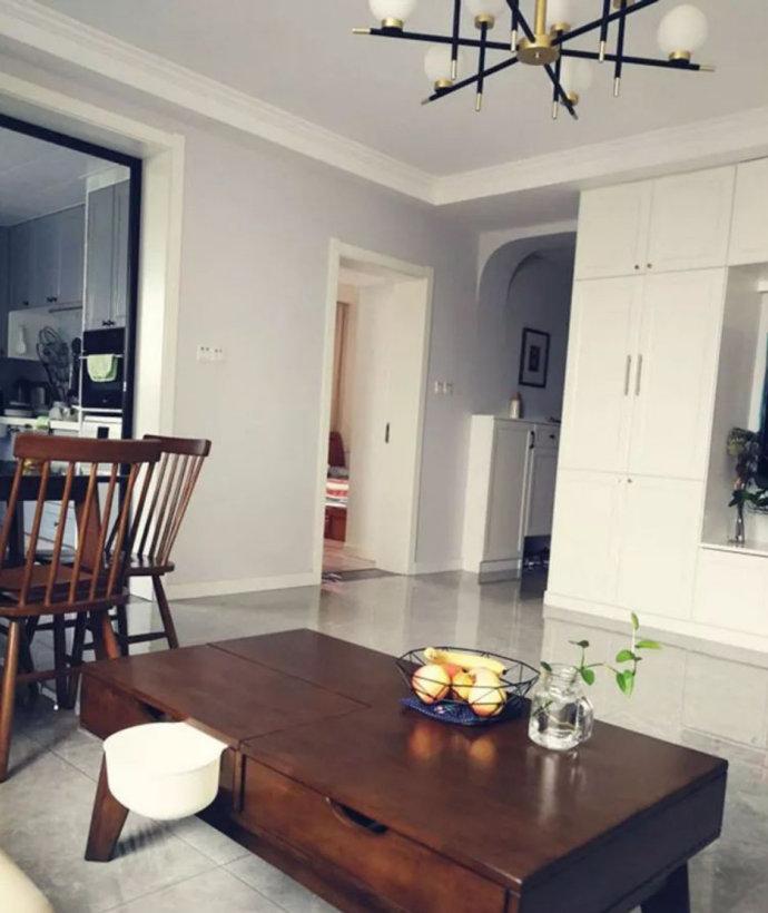 如何将老房经改造,看南京漓江路100平三居室,收纳布局超惊喜