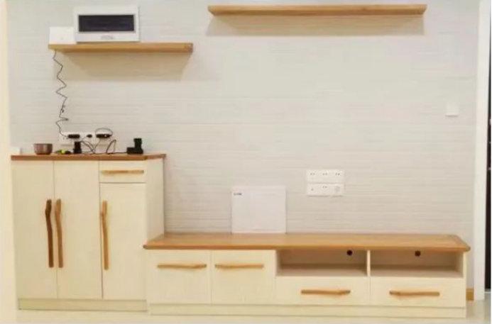 长盛西苑的小三居,88平装修设计,木色渲染出的别具风情