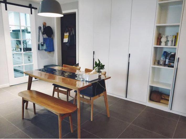 89平三居室北欧装修,关于收纳,你家做的够吗?
