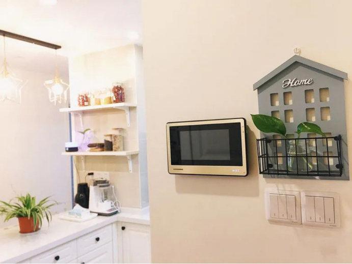 89平美式小清新装修设计,不复杂的有范装修,轻松完成好家装