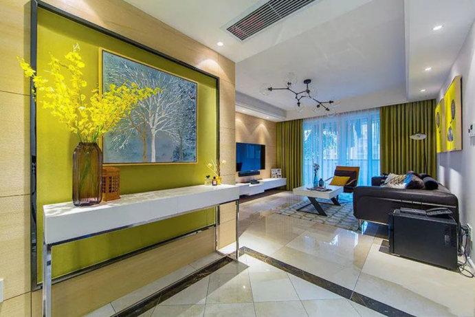 138平三室两厅的现代风格,舒适又时尚,细节设计缓解尴尬