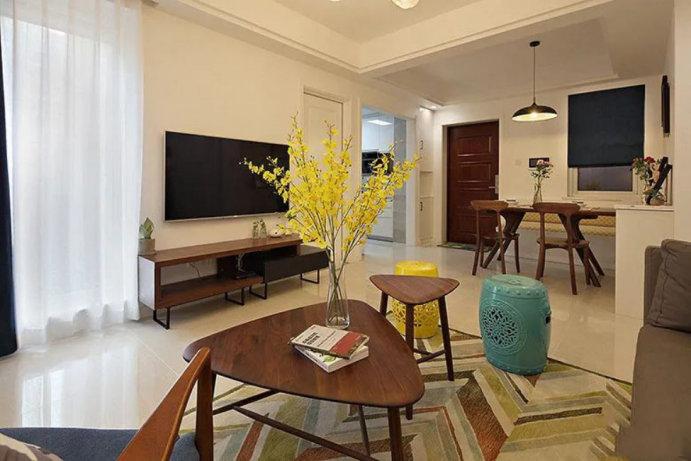 89平三室两厅装修案例,北欧风格设计,家就是要有舒适的生活感