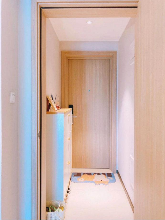 90平的装修案例,业主贴心的设计规划,实用美观的简约日式风