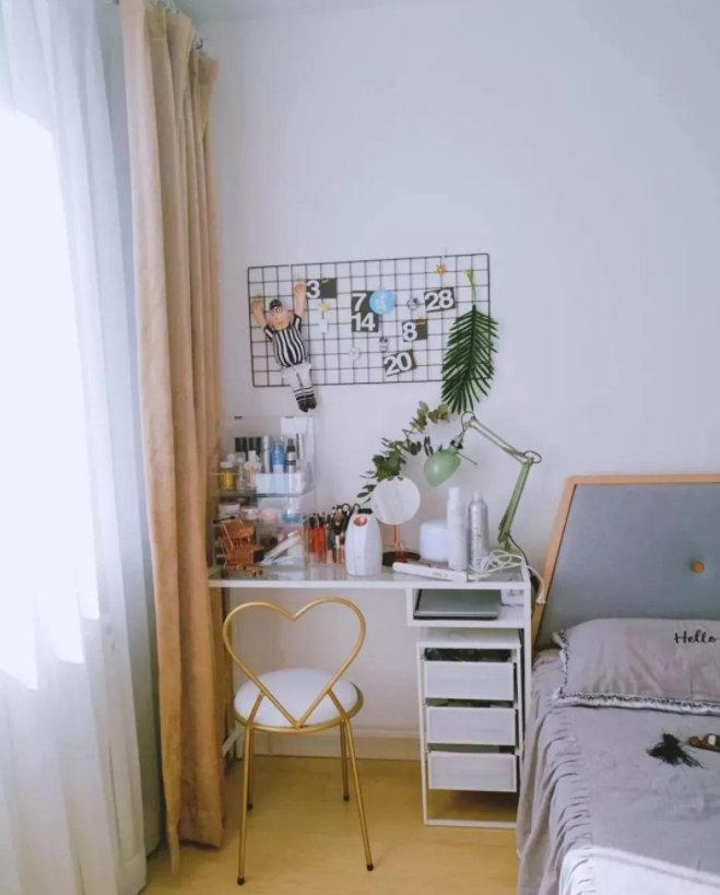 小卧室怎么装修布局,这些地方你都利用了吗,看起来宽敞又美观