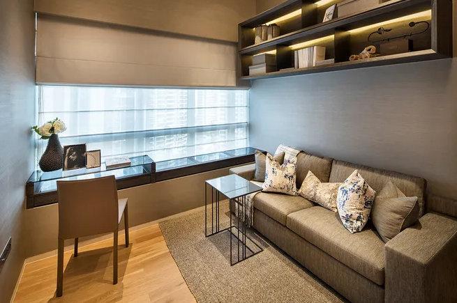 南京书房装修布局,每一个布局都很重要,再小的角落也能当书房