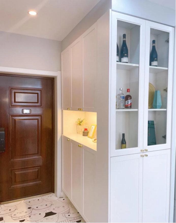 南京80平两室装修案例,业主的自我设计,简单实用是首位